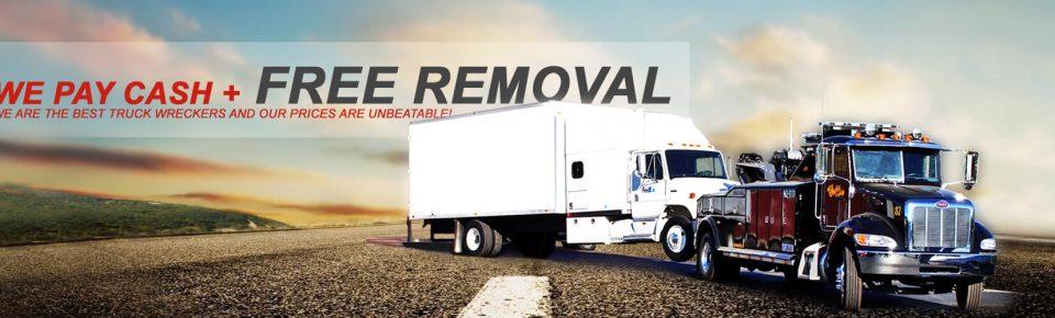 Selling Scrap Truck in Queensland