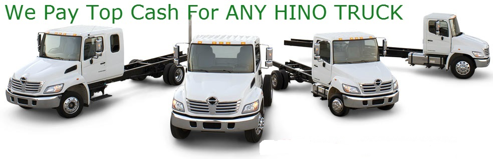 Hino truck wreckers Auckland