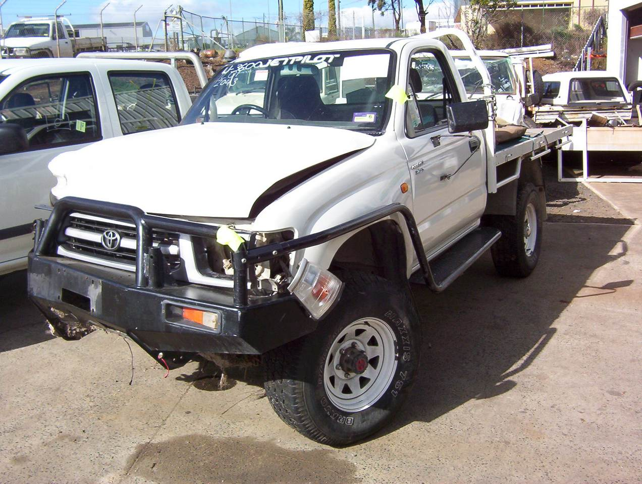 truck wrecking christchurch